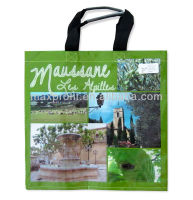 MaxProfit-Non-Woven Green Color Shopping Bag