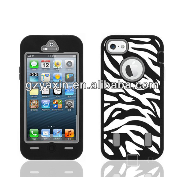 Make your own phone case online for iphone,PC Silicone Combo Case For iphone 5 Hard Cover