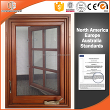 American standard foldable crank handle casement window and bay bow oriel window made in China