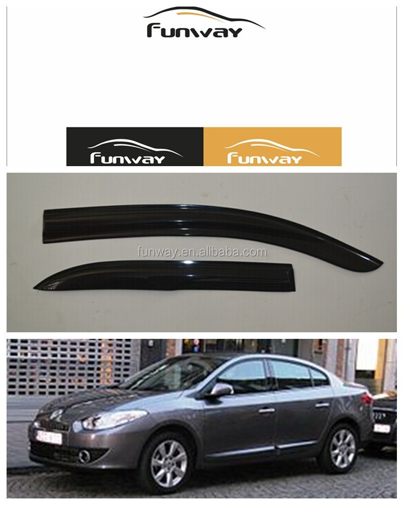 CAR DOOR VISOR RAIN DEFLECTOR FOR RENAULT FLUENCE USE