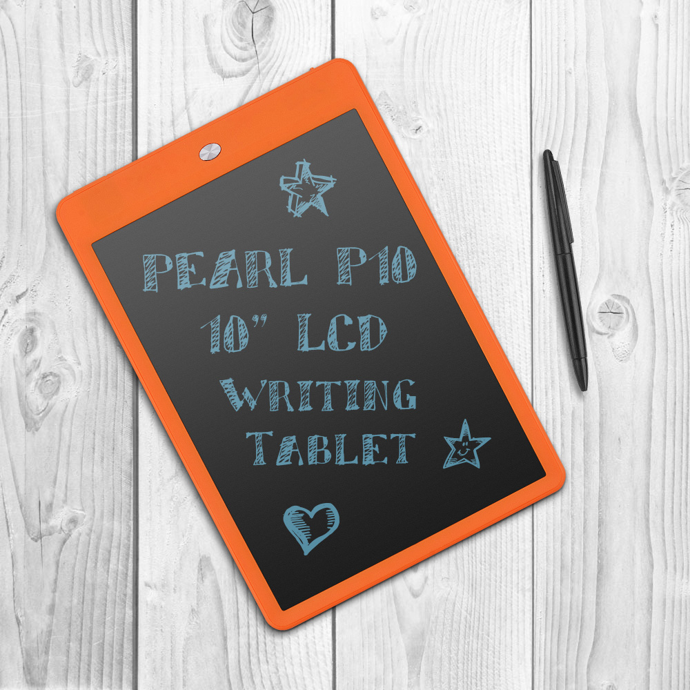 "P10 10"" LCD Writing Tablet Drawing Board Paperless Digital Notepad Rewritten Pad for Draw Note Memo Remind Message"