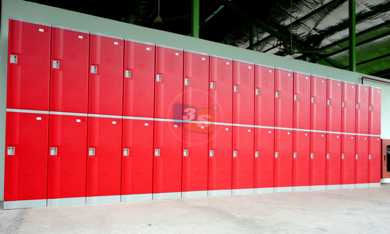 Plastic Lockers (ABS Material)
