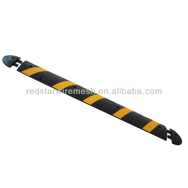 Rubber road speed hump(rubber speed humps)