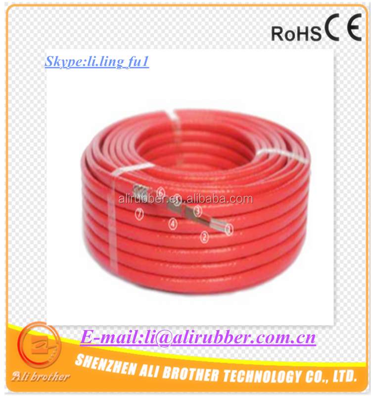 Self-regulating Heating Cable 220v 100w/m 110C 12*4mm color orange XD-H-M-401