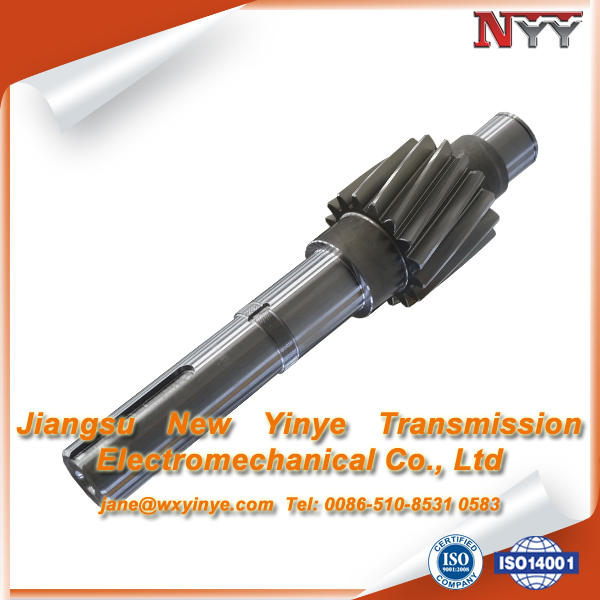 17CrNiMo6 helical pinion shaft