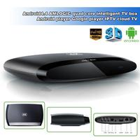 Quad Core Android 4.4 Intelligent player Android TV Box with External WiFi Antenna