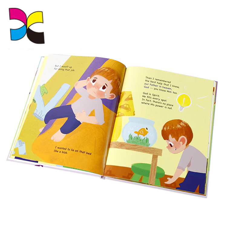 Custom children english story colorful import export books coloring book for kid