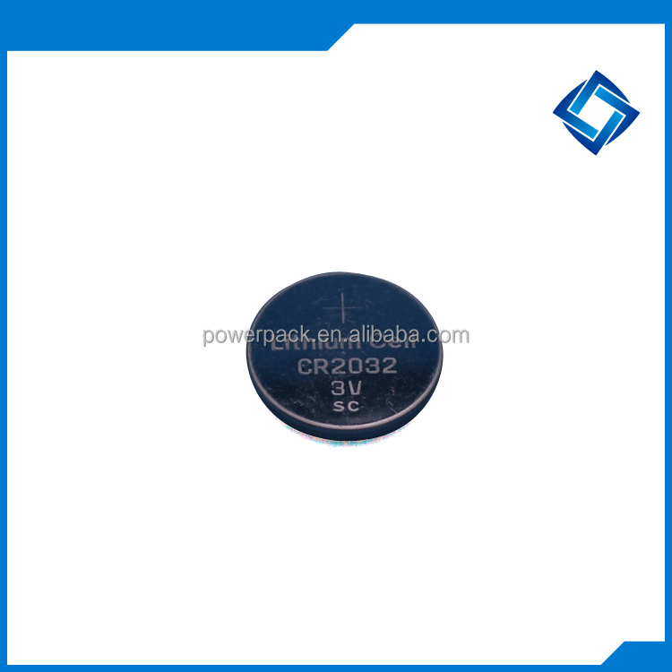 High capacity button cell CR2032 from pro manufacturer