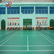 2012 hot sale PVC sports flooring for badminton court
