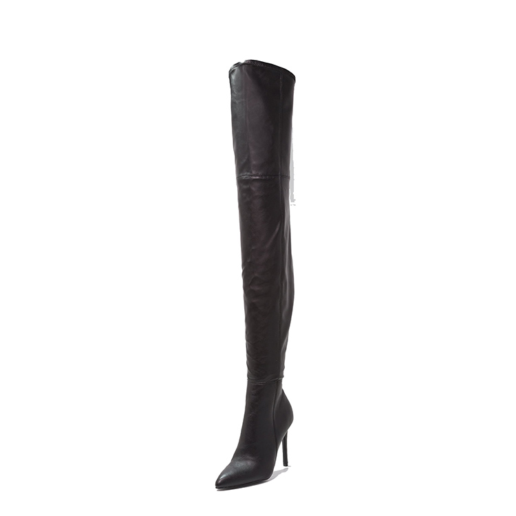 Gracozy 2018 Wholesale Women's Fashion Lady Knee Long High Heel <strong>Boots</strong>