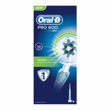 PRO 600 CrossAction Rechargeable Electric Toothbrush