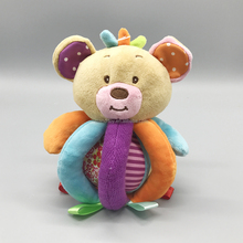 EN-71 & ASTM test passed safe baby gift bear soft plush baby ball toy
