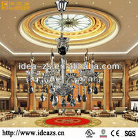 k9 crystal chandelier light lamp chandelier led hotel table lamp power outlets