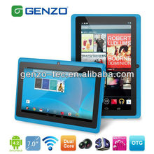 Cheapest 7 Inch A13 Q88 Tablet Pc 1.2ghz Android 4.0 Ram 512mb Rom