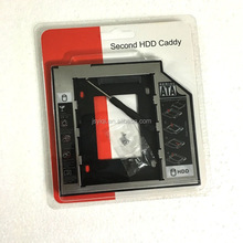 12.7mm SATA Second HDD Tray HD Hard Drive Caddy hard drive bracket tray Case HDD carrier For Dell/HP