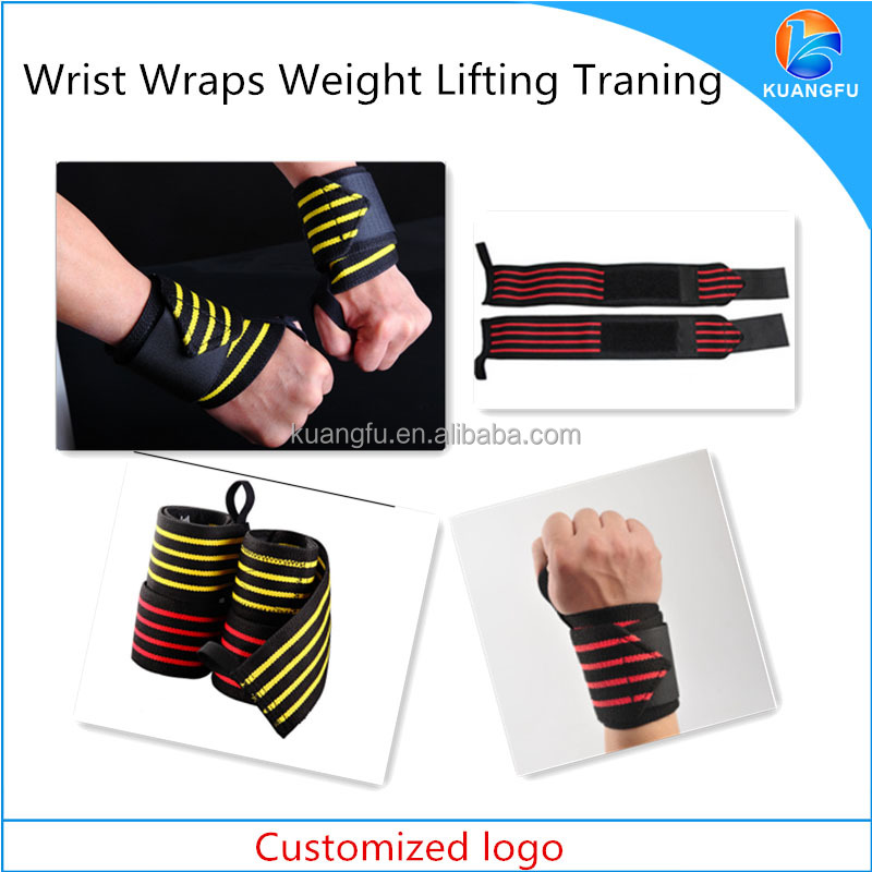 wholesale weight lifting wrist wraps for trainning