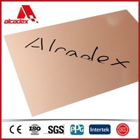 3mm to 6mm waterproof Nano coating aluminium sandwich panel