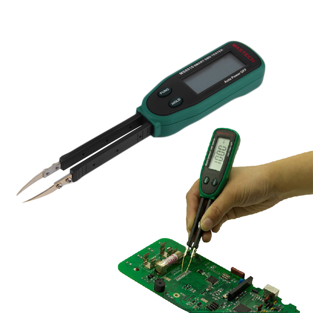 New Tweezers Smart SMD RC Resistance Capacitance Diode Meter Tester Auto Scan Wholesale