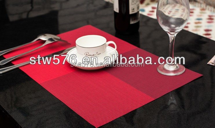Plastic Table Mat With Cup Coaster / Placemat
