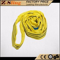 Z-Sling Low weight Polyester Endless Stage Round Slings with factory price