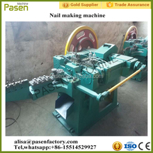 Automatic steel iron nail making machine