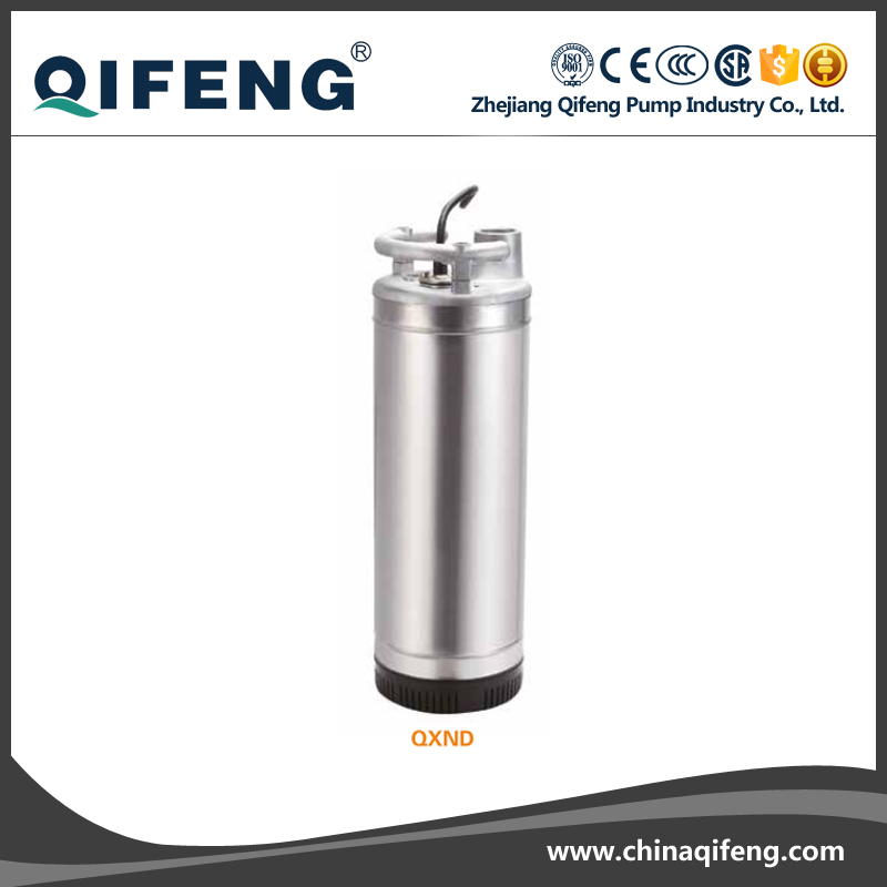 2 pole induction motor 220V Bore Well Submersible Water Pumps Stainless Steel Impeller Well Pump
