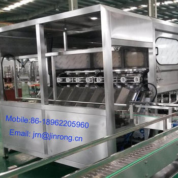 automatic 5 gallon water rinsing filling capping machine