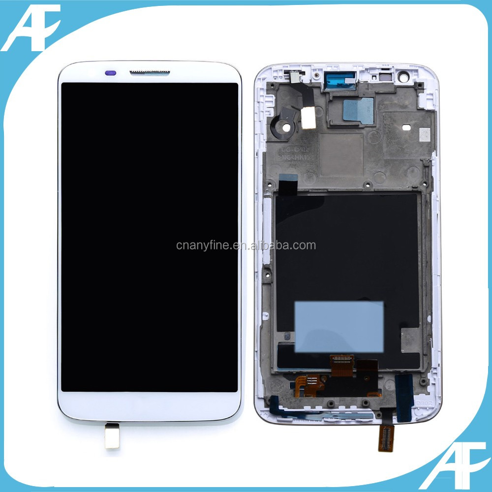 LCD Display Touch Screen For LG G2 D802 D805 + Frame Assembly Digitizer