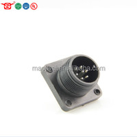 J12 waterproof connector male socket