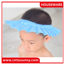 baby infant child shampoo wash hair cap cap with ear cover