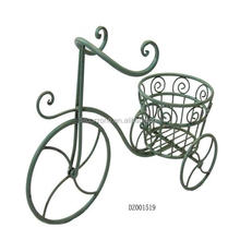 Hot Sale Iron Bicycle Flower Pot Holder