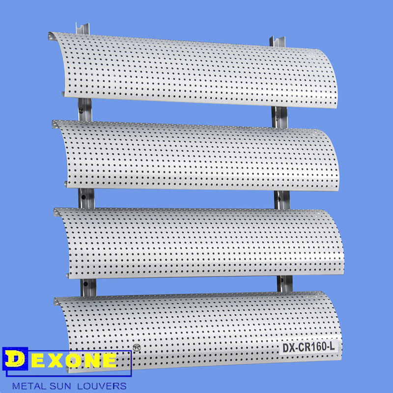 Advanced Exterior Aluminum Horizontal Louver Windows