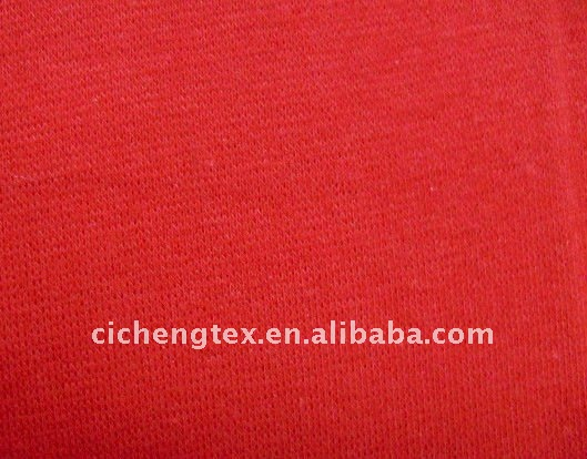 100%cotton rib fabric1x1,for collar,cuff, solid dyed or print rib fabric