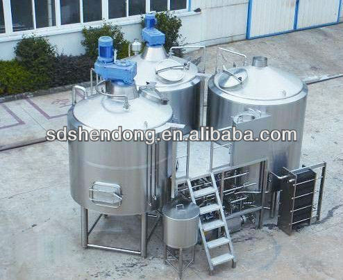 1000L/10 hl 7bbl stainless steel beer brewing system/ equipment for sale/home brewing equipment