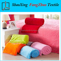 new listing soft pure color coral fleece blanket air conditioning blanket sheets