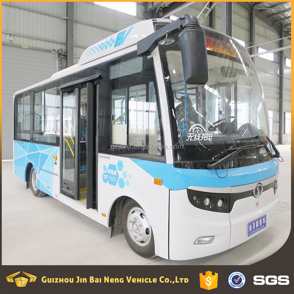 green power 41-60 seats pure electric city bus on sale