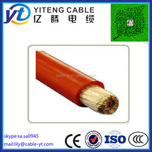 6mm Heat Resistant Silicone Rubber Cable and wire