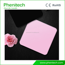 High quality digital body weight bathroom scale 6mm full tempered glass