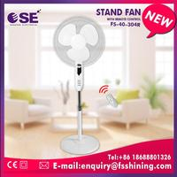 2090PCS/40HQ 30inch strong wind industrial pedestal fan cooling 3 speed choices with remote