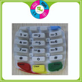 Heat resistand durable silicone rubber keypad