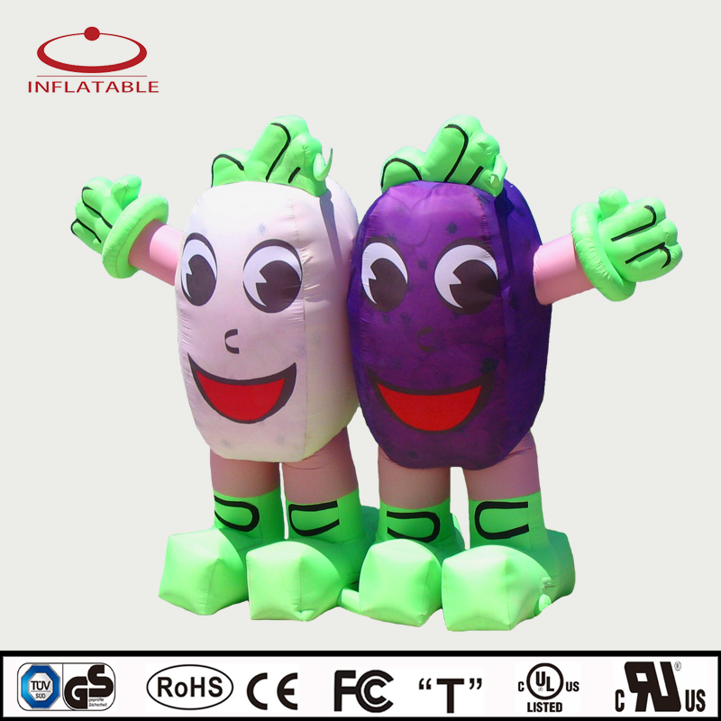 inflatable promotion product, inflatable advertising giant seed cartoon