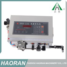 China manufacture professional auto parts small wire stripping cutting machine