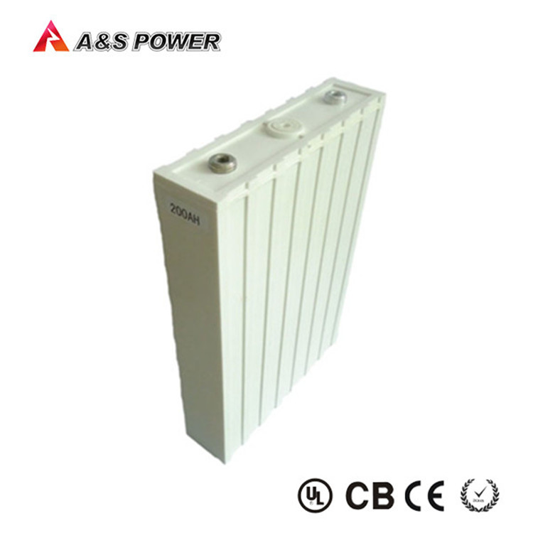 3.2V prismatic LiFePO4 rechargeable ev car battery pack 200Ah