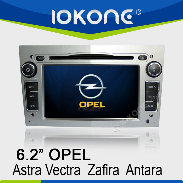 "6.2"" HD Touch screen opel astra j multimedia with GPS, ipod, usb, dvd, camera, dvb-t"