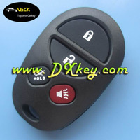 Good Service 2+2 button car remote case for toyota key cover toyota key shell with button pad