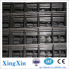 Building metal (iron/ steel) welded wire mesh panel, rebar/ galvanized iron wire/ black iron wire fence panel (Q - 031)