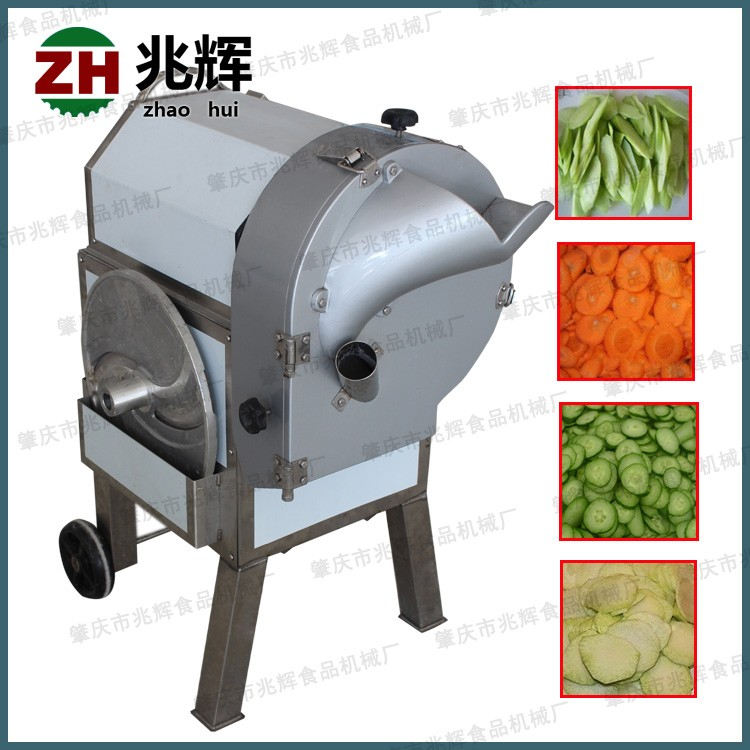 2016 Zhaohui Hot sale Electric vegetable cutter/onion rings cutting machine/tomato slice cutting machine