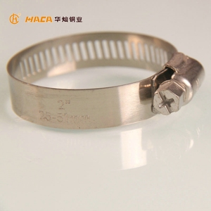 Stainless Steel Double Tube Wire Pipe Hose Clamp