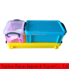 High quality micro plastic storage container with lid