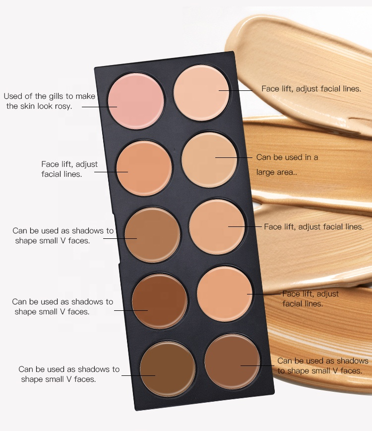 Private Label Professional Palette Long Lasting Cruelty Free Makeup Concealer